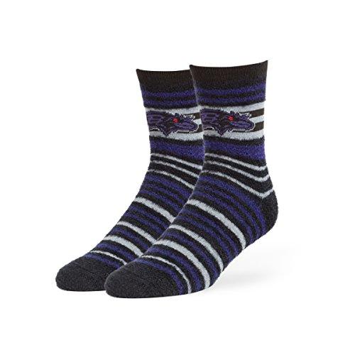 - '47 NFL Baltimore Ravens Shiloh Chenille Half Crew Socks, Medium, Black