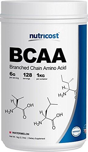 UPC 702669932356, Nutricost BCAA Powder 2:1:1 - 1 KG (Watermelon)