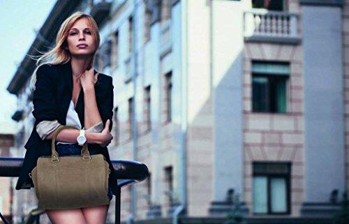 Chabo Bags, Borsa a spalla donna beige Beige
