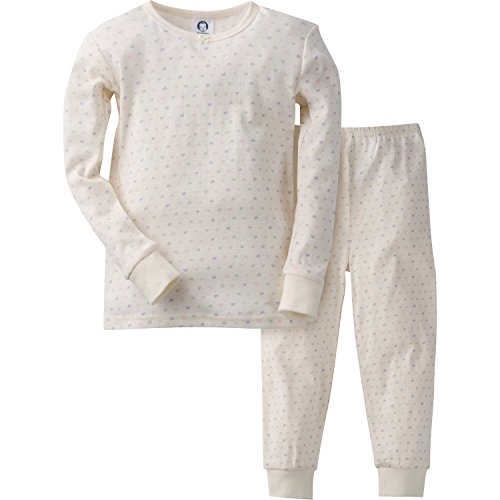 Gerber Girls' 2 Piece Cotton Pajama, Tiny Hearts, 24 Months - Kid 2 Piece Pjs