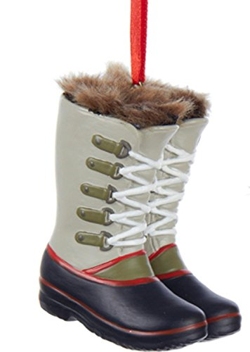 Faux Fur Christmas Boot - 8