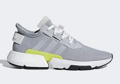 adidas Men's Originals POD s3.1 Grey Two/Grey Two/Shock Yellow B37363 8 US