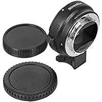 Commlite Auto-focus Mount Adapter EF-NEX for Canon EF/EF-S Lens to Sony NEX with IS Exact Exposure