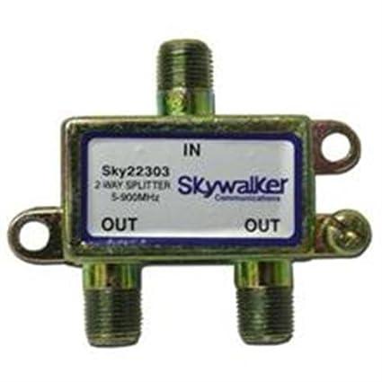 2 Way Splitter, 5-900 MHz
