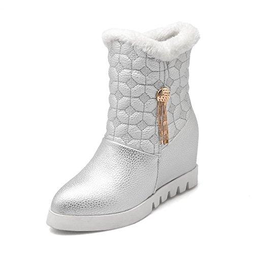 1TO9 Botas de Nieve Mujer plata