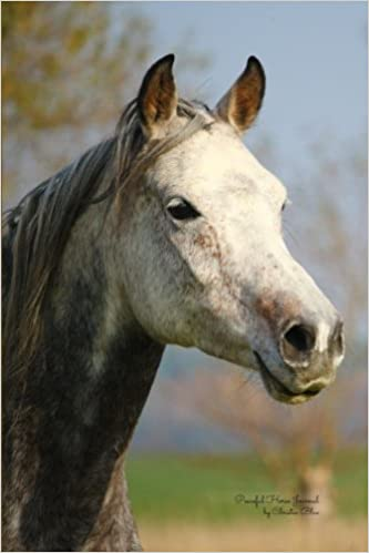 Peaceful Horse Journal: (Blank Book, Notebook, Diary)