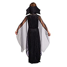 - 41gYMjPU XL - Totally Ghoul Wicked Bat Girl Costume, Girl's Size Small