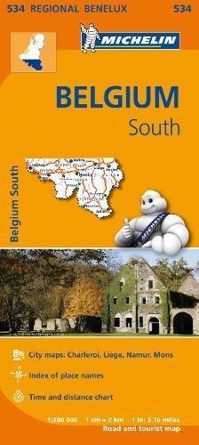 Belgium South - Michelin Regional Map 534 (Michelin Regional Maps)