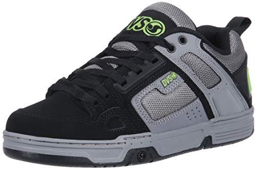 DVS Men's Comanche Skate Shoe, Grey Charcoal Nubuck, 8.5 Medium US