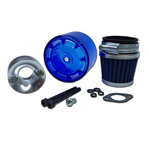 FLMLF RC Car Upgrade Accessories Air Filter Set with Blue Cover for 1/5 RC Hpi Baja Rovan King Motor 5B 5T 5SC TOP Speed RC World