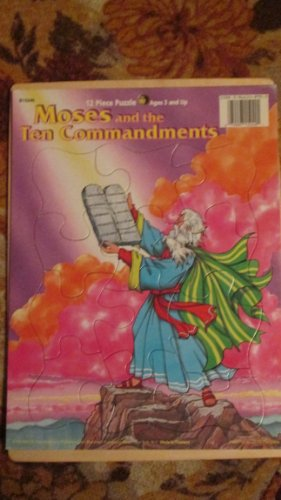 - Playmore Inc. Moses and the Ten Commandments 12 Piece Tray Puzzle