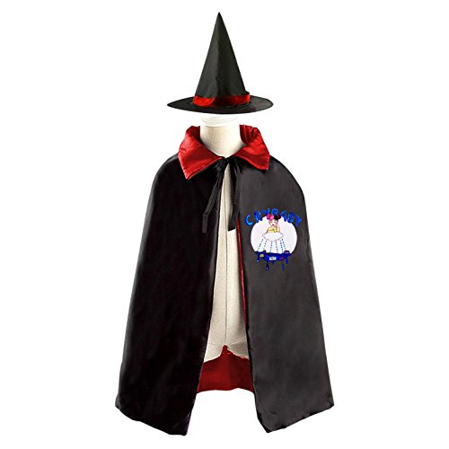 Melanie Martinez Cry Baby Kids Halloween Party Costume Cloak Wizard Witch Cape With Hat