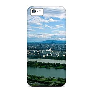 For Iphone Case, High Quality Wienna Panorama For Iphone 5c Cover Cases