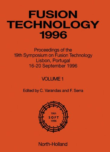 Fusion Technology 1996: Proceedings of the 19th Symposium on Fusion Techno Pdf