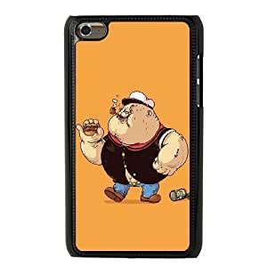 The best gift for Halloween and Christmas iPod 4 Case Black Fat Popeye RPR1734965