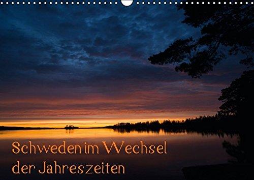 Schweden im Wechsel der Jahreszeiten (Wandkalender 2016 DIN A3 quer): Wunderschöne Stimmungen und Landschaften aus Schweden (Monatskalender, 14 Seiten ) (CALVENDO Natur)