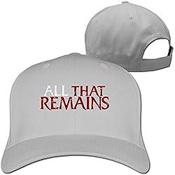 All That Remains Logo Tour Lyrics Two Weeks Songs Custom Caps For Men