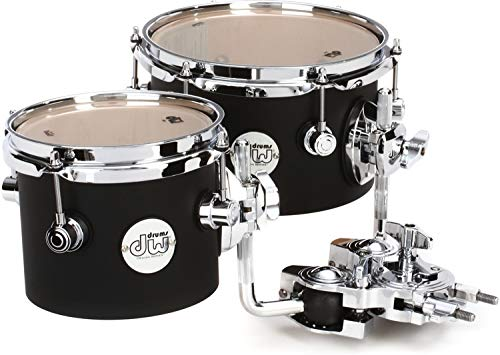 DW Design Series Concert Tom Set with Mount - 6 Inch, 8 Inches by DW