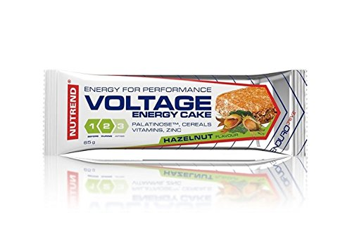 Nutrend Voltage Energy Cake Protein BAR 65g Wild Cherry Flavor Combines a reat Taste and a Perfect Form of Energy Intended for Replenishment of Energy GI 32 Vitamin C E zinc (Best Flavour C4 Pre Workout)