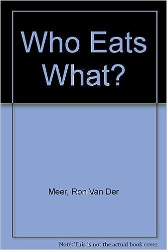Who Eats What?: Amazon.es: Meer, Ron Van Der, Meer, Atie Van ...