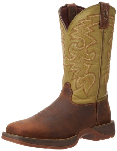 Durango Mens Rebel Db5416 Western Boot Coffee Cactus 10 M Us