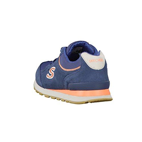 Skechers OG 82 Classic Kicks Originals Women's Trainers Sneaker Air Cooled Memory Foam Azul/Coral