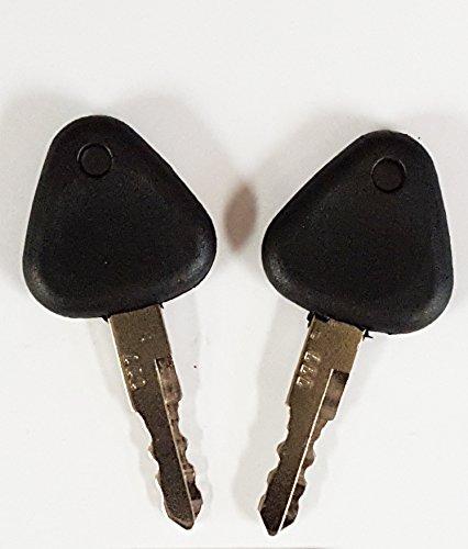 2 Volvo Excavator Ignition Keys for Clark, Samsung, Volvo, Part Number 777