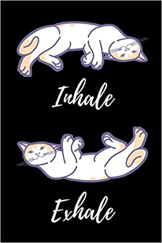 Inhale Exhale: Cat Yoga Notebook/Journal 120 Pages 6