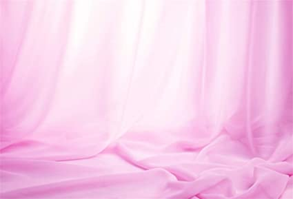 Amazoncom Aofoto 5x3ft Pink Fine Gauze Background For
