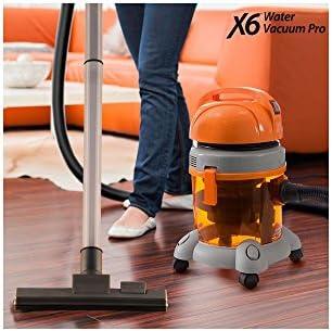 X6 Water Vacuum Pro Aspiradora sin bolsa con depósito de agua, 1400 W: Amazon.es: Hogar