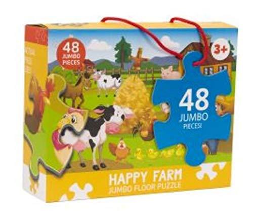 Happy Farm Jumbo Floor Puzzle