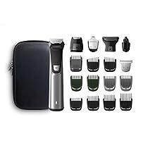 Philips MG7770 Serie7000 Grooming Kit, Rifinitore Impermeabile in Acciaio 18in1 per Barba, Capelli e Corpo