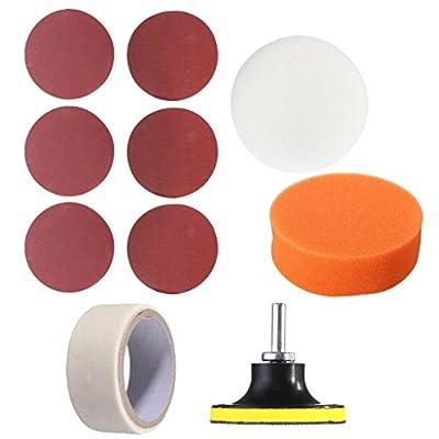 Baosity Universal Headlight Head Lamp Lens Cleaning Polishing Kit Light Bulb Cover Maintenance