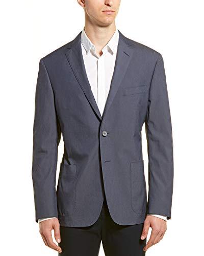 Hickey Freeman Mens Sport Coat, 38, Blue