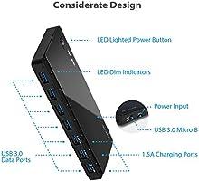 2nd Gen TP-Link 7-Port USB 3.0 Ultra Slim Hub Including 3 BC 1.2 Charging Port