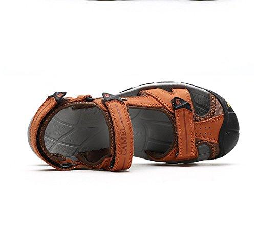 Sandali Da Spiaggia Per Donna, Cammello, Colore Arancione Taglia 35 M Eu