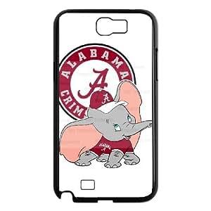 Alabama Crimson Tide Samsung Galaxy N2 7100 Cell Phone Case Black gife pp001_9240993