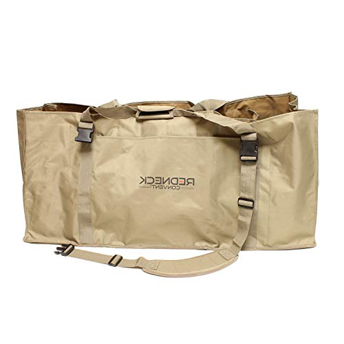 HealthyBells Slotted Decoy Bag Decoy Backpack for 12 Decoys - Duck Decoy Bag Duck Hunting Bag