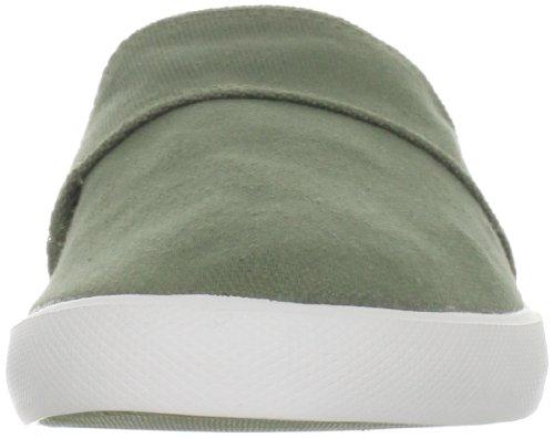Lacoste Heren Clemente Ci Sneaker Kaki / Donkerrood