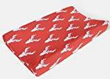Changing Pad Cover in Red Deer - Woodland Nursery - by Twig + Bird - Handmade in America