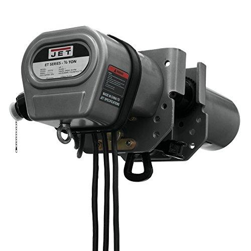 (JET 1/2T ET-1C Lifting Systems 1/2ET-1C, 1/2 Ton, 1Ph, 115/230V, Prewired 230V (272705),)