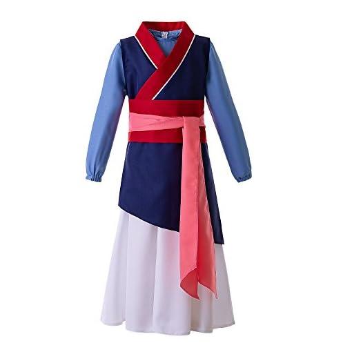 Pettigirl Girls Chinese Heroine Princess Costume