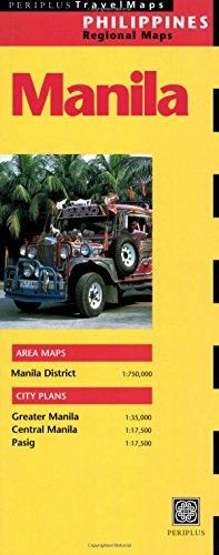 Periplus Travelmaps Manila: Philippines Regional Map (Periplus Travel Maps) (Other Regional Maps)