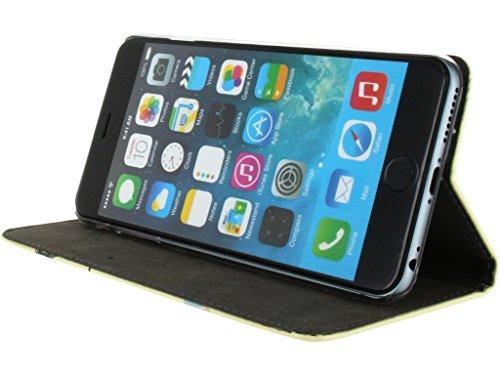 Mobilize Premium Magnet Book Case Apple iPhone 6 Plus I Love You