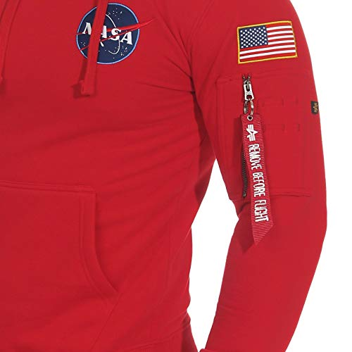Shuttle Industries Red Speed Space Hoody Alpha xwqZARYR