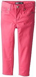 Levi\'s Girls\' 710 Super Skinny Jean, Ultra Pink, 6X