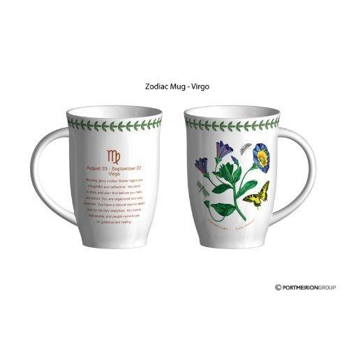 Portmeirion Zodiac 12.6 oz. Virgo / Morning Glory Mug