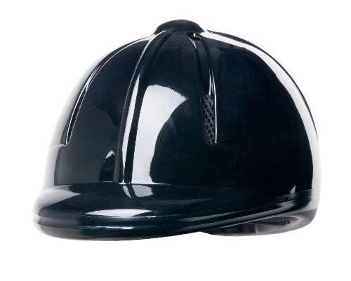 Devon-Aire Youth Equestrian Riding Helmet, X-Small/Small, Black