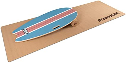 rôle et de coffre Skateboard planche de surf Tour Board Surf Blue-indoorboard Incl
