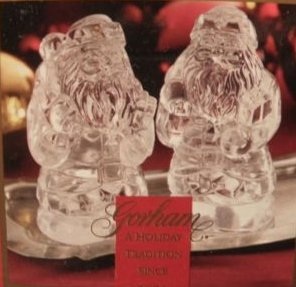 Gorham Crystal Holiday Traditions 3-3/4